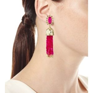 Kendra Scott Decker Bell Tassel Earrings